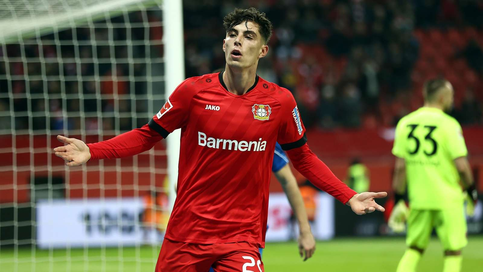 Leverkusen are aware of the huge interest in Kai Havertz